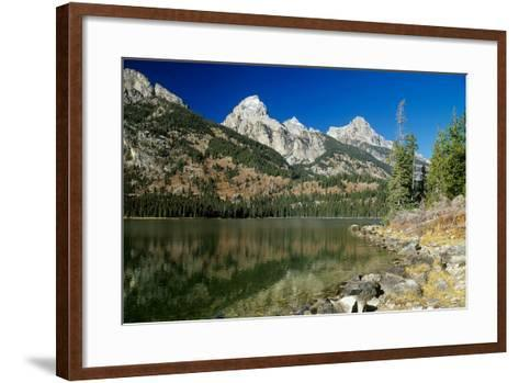 Grand Teton 03-Gordon Semmens-Framed Art Print