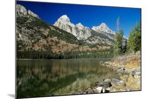 Grand Teton 03-Gordon Semmens-Mounted Photographic Print
