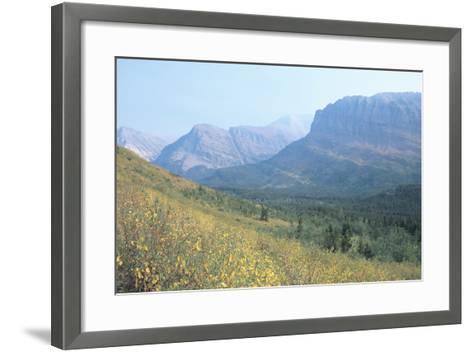 Glacier 8A-Gordon Semmens-Framed Art Print