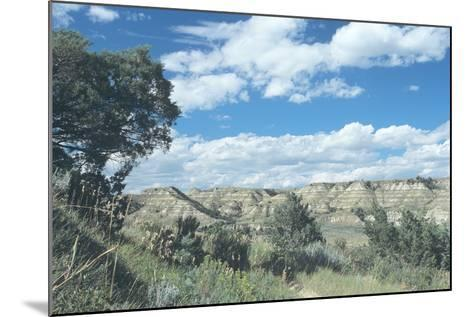 Theodore Roosevelt National Park-Gordon Semmens-Mounted Photographic Print
