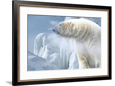 Arctic Frost-Gordon Semmens-Framed Art Print