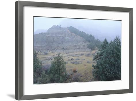 Theodore Roosevelt National Park-Gordon Semmens-Framed Art Print