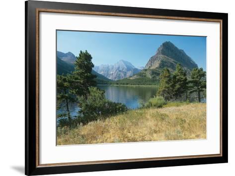 Glacier Q-Gordon Semmens-Framed Art Print