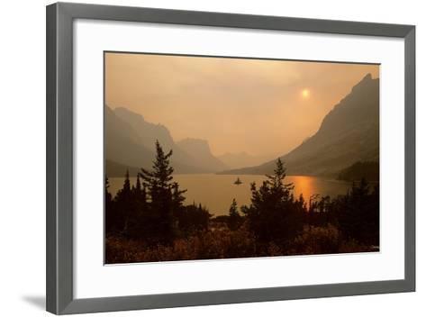 Glacier O-Gordon Semmens-Framed Art Print