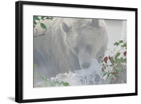 Down Stream-Gordon Semmens-Framed Art Print