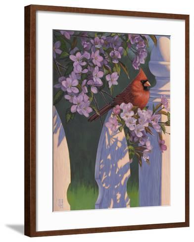 Crimson Evening-Jeffrey Hoff-Framed Art Print