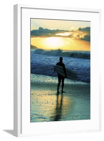 One Sunday Morning-Incredi-Framed Art Print