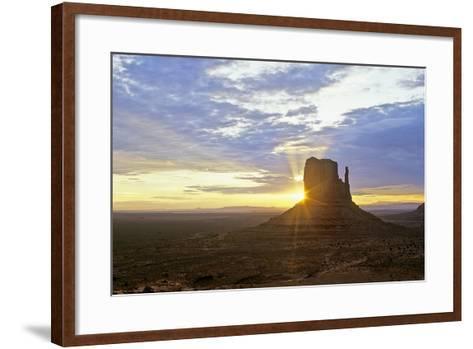 Monument Valley 03-Gordon Semmens-Framed Art Print