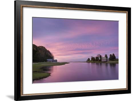 Morn at Salt Pond-Michael Blanchette-Framed Art Print