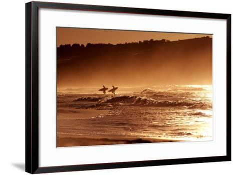 Orange Day-Incredi-Framed Art Print