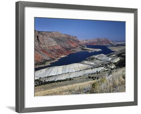 Flaming Gorge-J.D. Mcfarlan-Framed Art Print