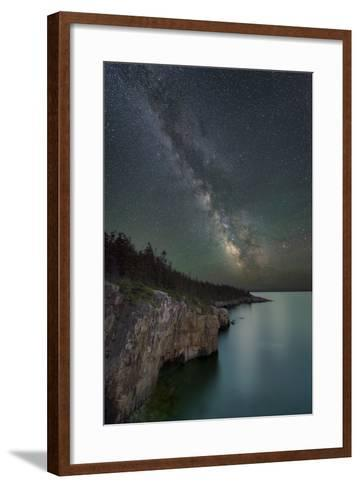Cliff Point-Michael Blanchette-Framed Art Print