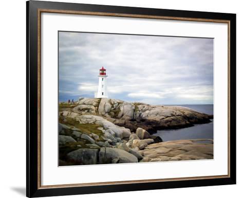 Peggy's Cove, NS-J.D. Mcfarlan-Framed Art Print