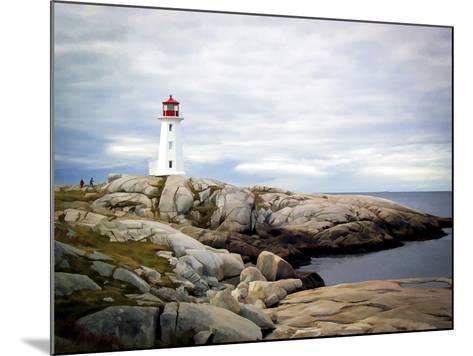 Peggy's Cove, NS-J.D. Mcfarlan-Mounted Photographic Print
