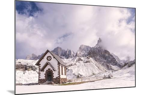 Alpine Chapel-Michael Blanchette-Mounted Photographic Print