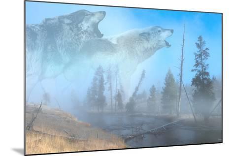 Spirits of Yellowstone-Gordon Semmens-Mounted Photographic Print