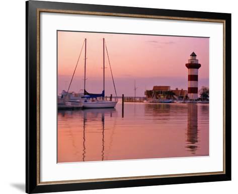 Harbortown, SC-J.D. Mcfarlan-Framed Art Print