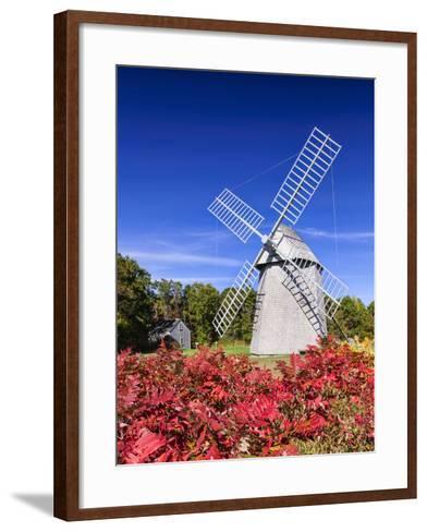 Old Higgins Farm Windmill-Michael Blanchette-Framed Art Print