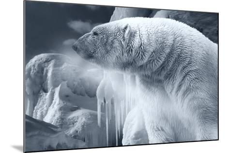 Arctic Frost-Gordon Semmens-Mounted Photographic Print