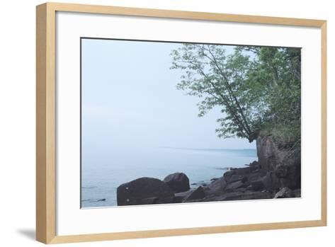 Lake Superior 05-Gordon Semmens-Framed Art Print