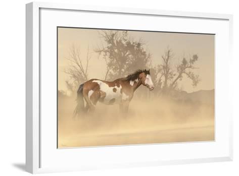 Misty River-Gordon Semmens-Framed Art Print