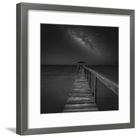 Milky Way in Florida 2-Moises Levy-Framed Art Print