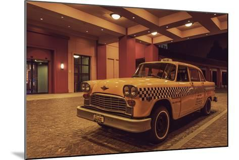 Disney 2 Taxi-Sebastien Lory-Mounted Photographic Print