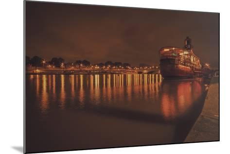 Paris Lost Boat-Sebastien Lory-Mounted Photographic Print