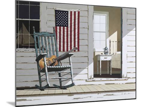 Rocking Chair with Guitar-Zhen-Huan Lu-Mounted Photographic Print