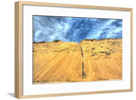 Cape Dune and Stairst-Robert Goldwitz-Framed Art Print