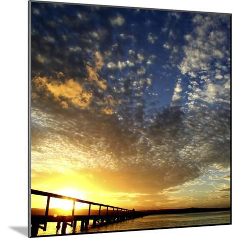 Sunset Glory-Incredi-Mounted Photographic Print