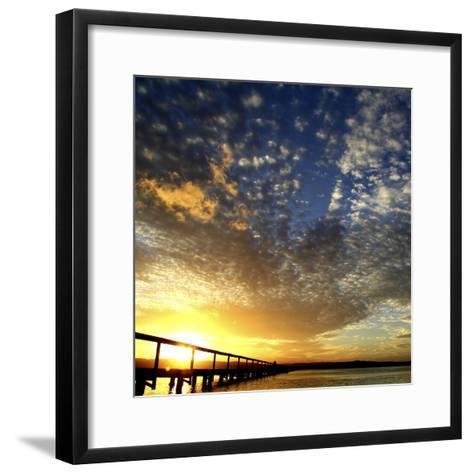Sunset Glory-Incredi-Framed Art Print