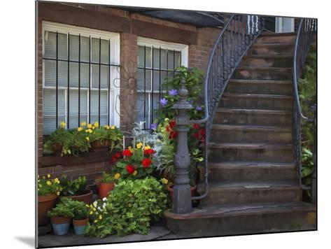 Townhouse Steps-J.D. Mcfarlan-Mounted Photographic Print