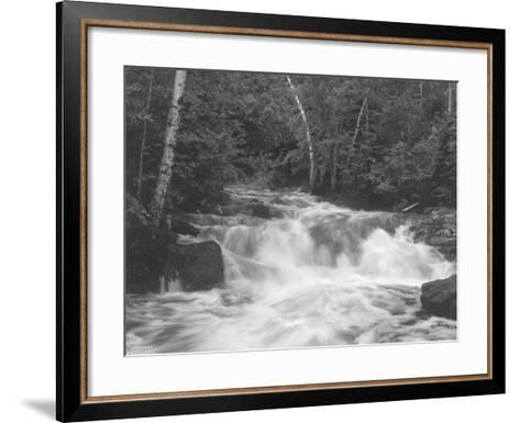 Falls 2-Gordon Semmens-Framed Art Print