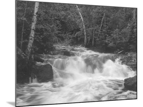 Falls 2-Gordon Semmens-Mounted Photographic Print