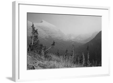 Glacier 1-Gordon Semmens-Framed Art Print