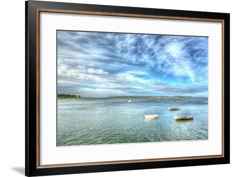 Three Dinks Horizontal-Robert Goldwitz-Framed Art Print
