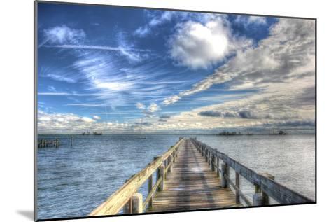 Long Pier Sebastian Florida-Robert Goldwitz-Mounted Photographic Print