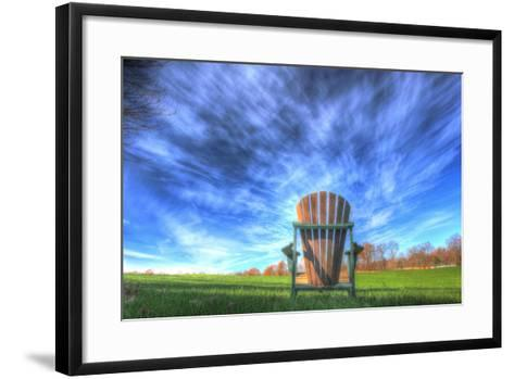 Adirondack Chair Horizontal-Robert Goldwitz-Framed Art Print