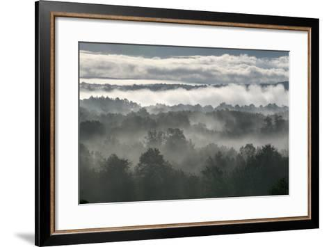 Grey Shawangunk Sunrise 3-Robert Goldwitz-Framed Art Print