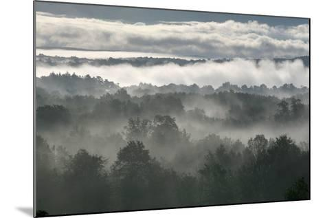 Grey Shawangunk Sunrise 3-Robert Goldwitz-Mounted Photographic Print