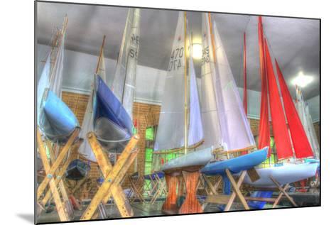 Model Sailboat Clubhouse-Robert Goldwitz-Mounted Photographic Print
