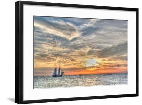 Liberty Clipper-Robert Goldwitz-Framed Art Print