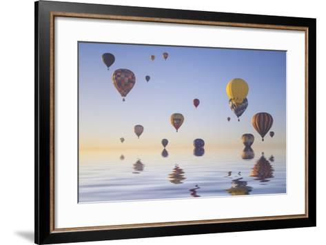 Love is in Air IV-Moises Levy-Framed Art Print