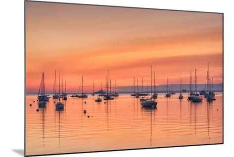 Pastel Harbor-Michael Blanchette-Mounted Photographic Print