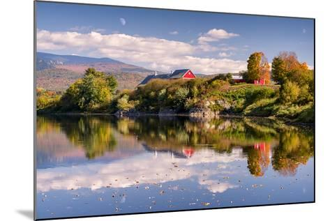 Pastoral Reflection-Michael Blanchette-Mounted Photographic Print