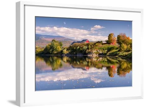 Pastoral Reflection-Michael Blanchette-Framed Art Print