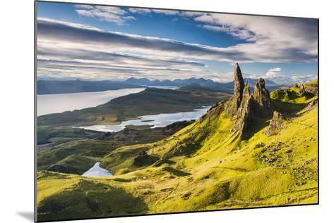 Light on the Storr-Michael Blanchette-Mounted Photographic Print