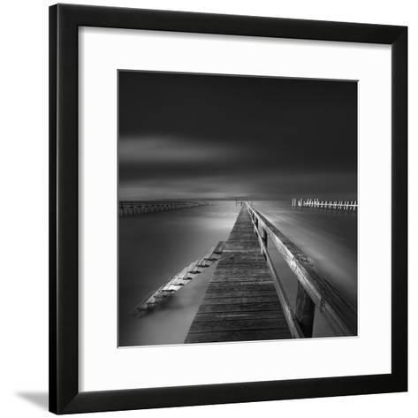 Options BW-Moises Levy-Framed Art Print
