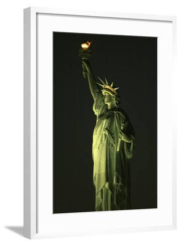 Liberty Vertical-Robert Goldwitz-Framed Art Print